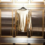 bluse Metallic GOLD