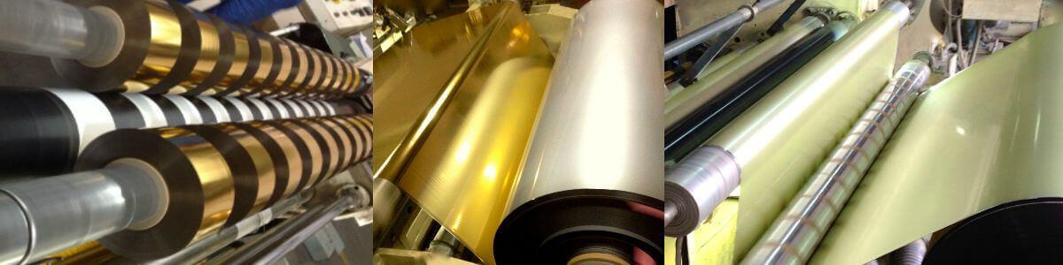 stamping hot foils